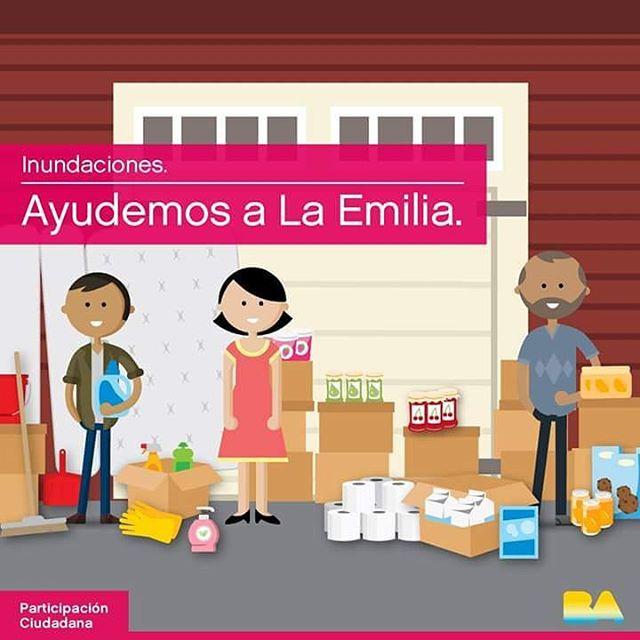 ¡SÉ PARTE DE ESTA CAMPAÑA SOLIDARIA! La Emilia necesita de nuestra colaboración. Por eso, los días 26, 27 y 28 de enero (de 9 a 14 hs) con los #VoluntariosBA vamos a estar recolectando donaciones solidarias para las personas afectadas por la inundaciones en los barrios de Palermo, Belgrano, Caballito y Almagro.  Enterate dónde y cómo ayudar en: http://bit.ly/AyudemosLaEmilia ¡La Emilia nos necesita! #EmprendedorasUnicas #SeSolidario